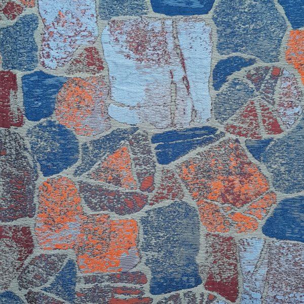 Roc coloris Bleu Lapis